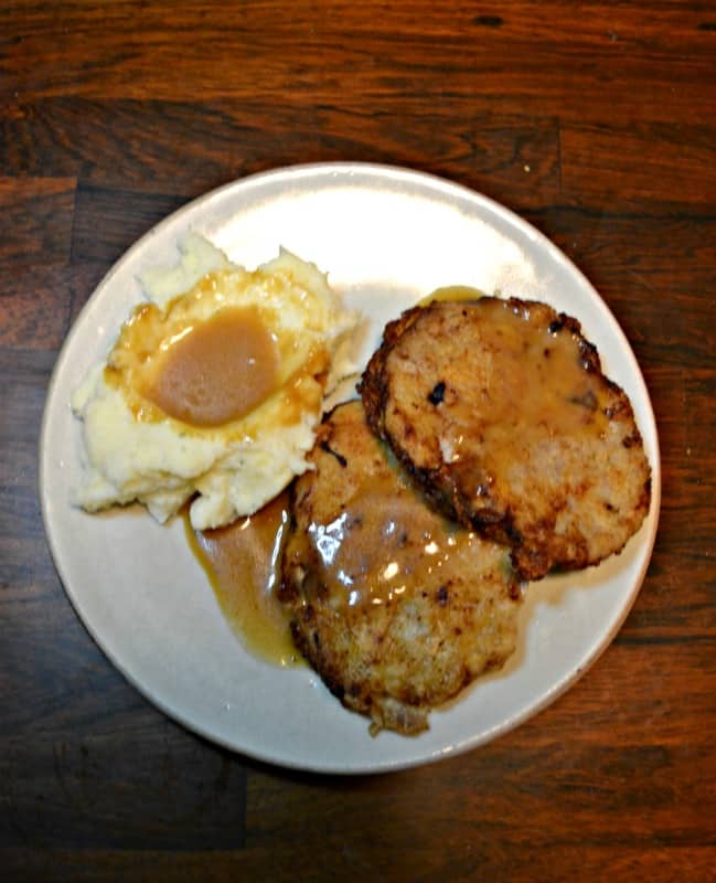 Look for a delicious meal? Try this Country Fried Steak with Red Eye Gravy and mashed potatoes!