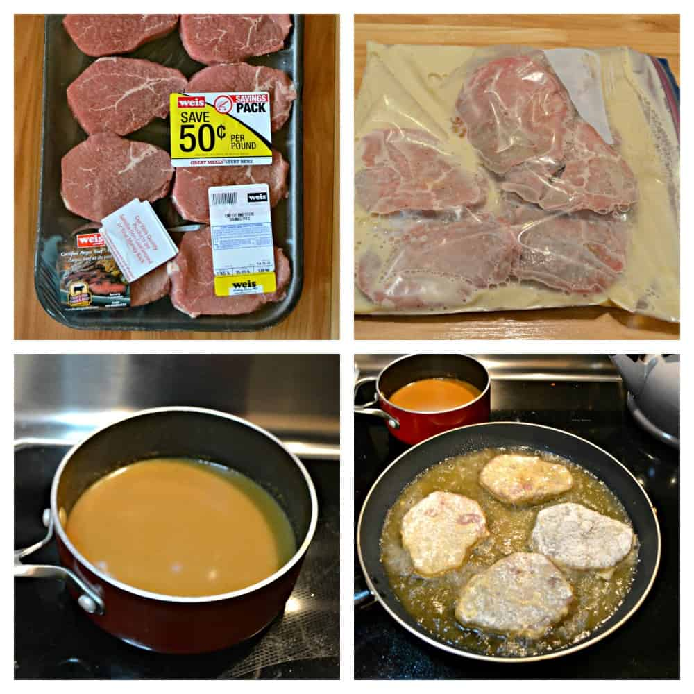 It's easy to make the best Country Fried Steak with Red Eye Gravy