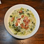 Instant Pot Broccoli, Bacon, and Rice Soup