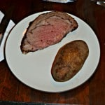 Pepper and Herb Crusted Standing Rib Roast with Garlic Parmesan Horseradish Cream