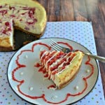 Strawberry Swirl Cheesecake #SundaySupper