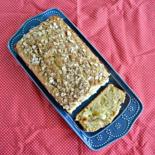 This Apple Cinnamon Quick Bread is great to make and freeze for later.