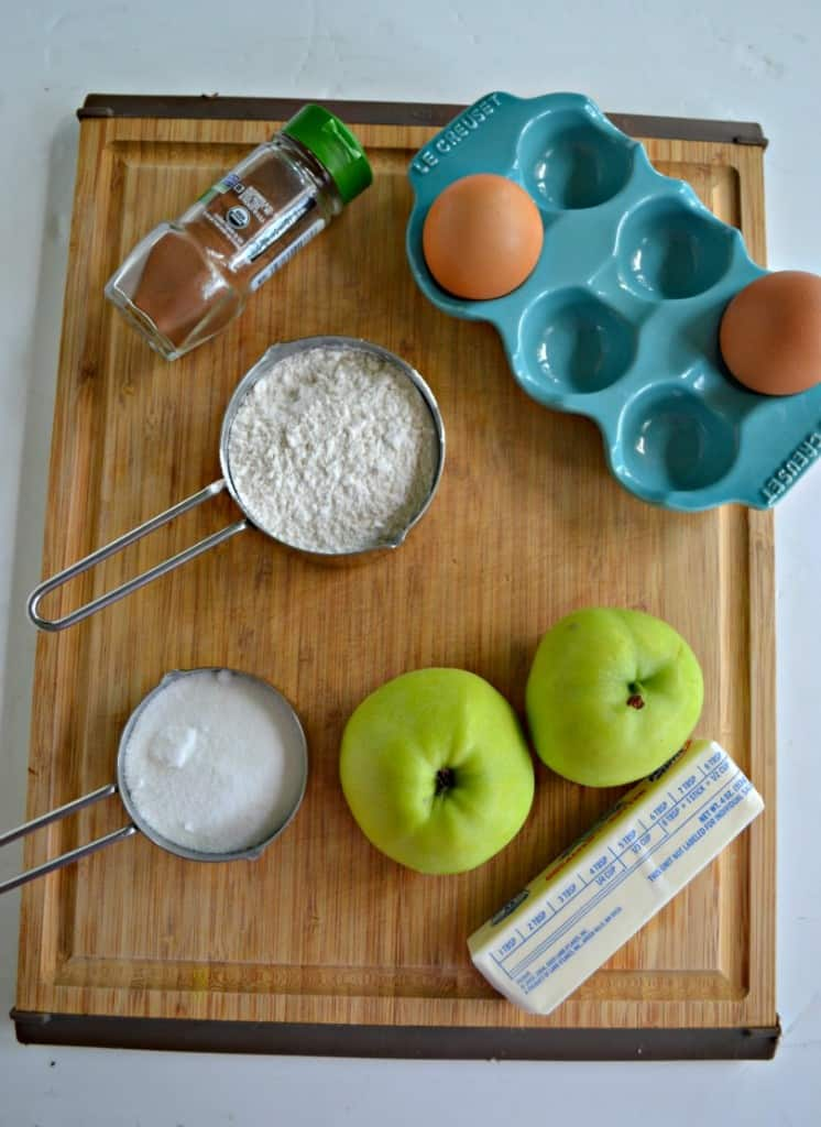 Everything you need to make Apple Cinnamon Bread