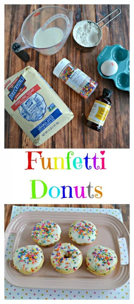 Funfetti Donuts will be a brunch time favorite!