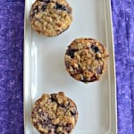 Meyer Lemon and Blueberry Muffins