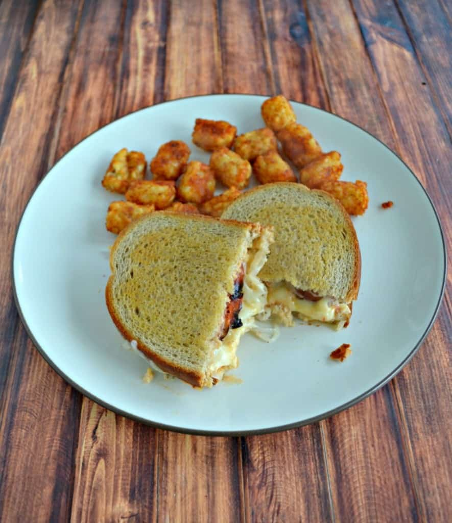 Take a bite out of these delicious Polish Reubens!