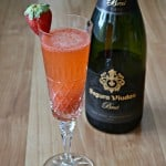 Give your bubbly a kick of flavor and color with these Strawberry Bellini's!