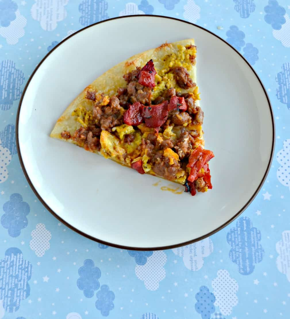 Breakfast Pizza #BrunchWeek - Hezzi-D\'s Books and Cooks