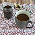 Try this flavorful Peppermint Mocha Coffee Syrup in your morning coffee.