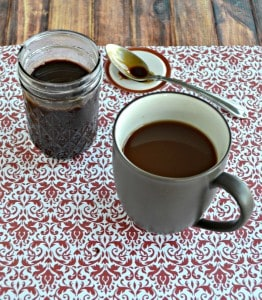 Peppermint Mocha Coffee Syrup #BrunchWeek