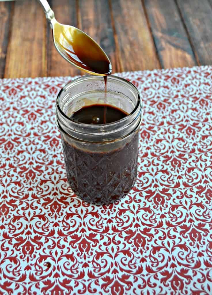 I love this flavorful Peppermint Mocha Coffee Syrup in my morning cup of coffee.