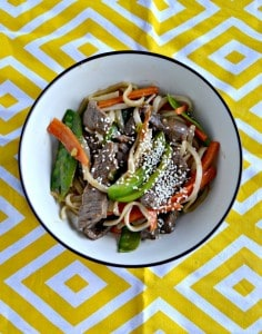Beef and Garden Vegetable Stir Fry