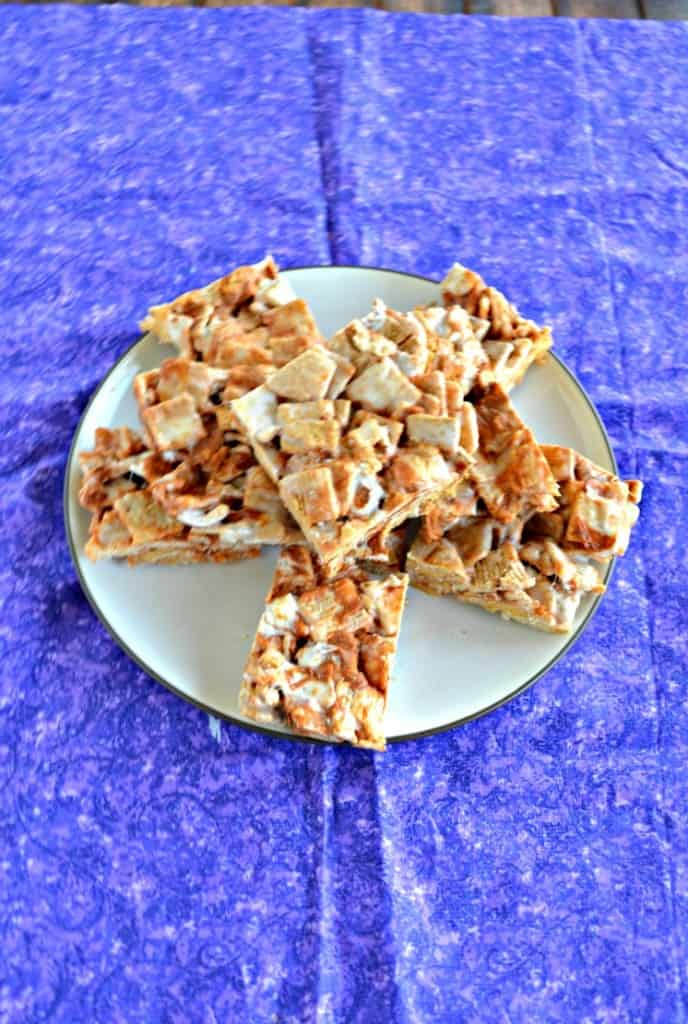 I love the cinnamon spice in these Cinnamon Toast Crunch Treats!