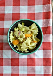 Everything Bagel Pasta Salad