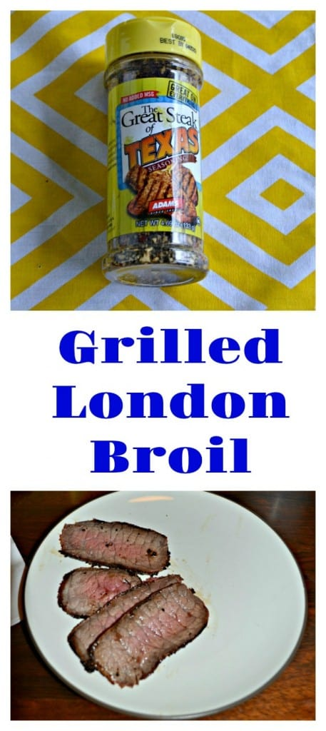 Looking for a mea tthat will feed a crowd? Try my Grilled London Broil!
