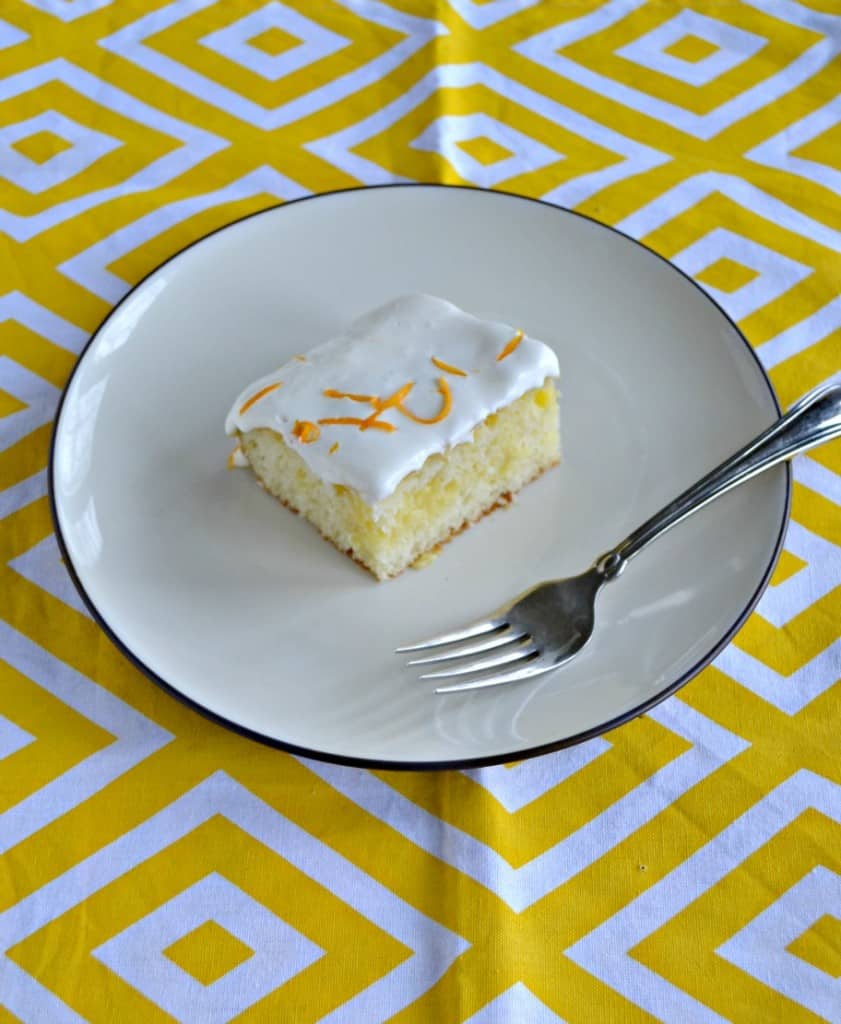 I love the bright flavors in this Lemon Poke Cake!