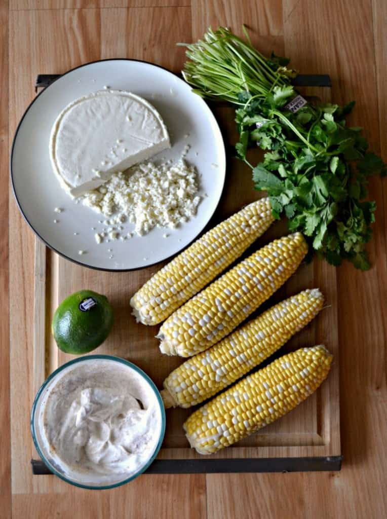 Make your own Grilled Mexican Street Corn at home!