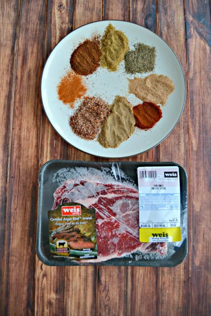 It only takes a Certified Angus Beef Brand Ribeye and a few spices to make a delicious Grilled Southwestern Steak