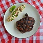 Grilled Southwestern Steaks with Grilled Mexican Street Corn
