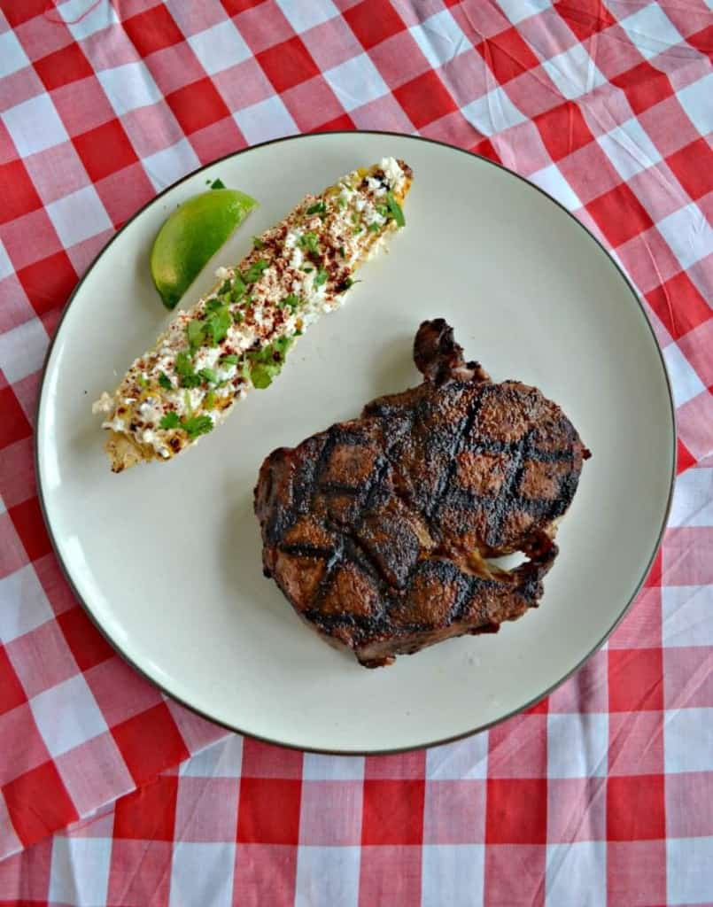 Grilled Southwestern Steaks with Mexican Street Corn