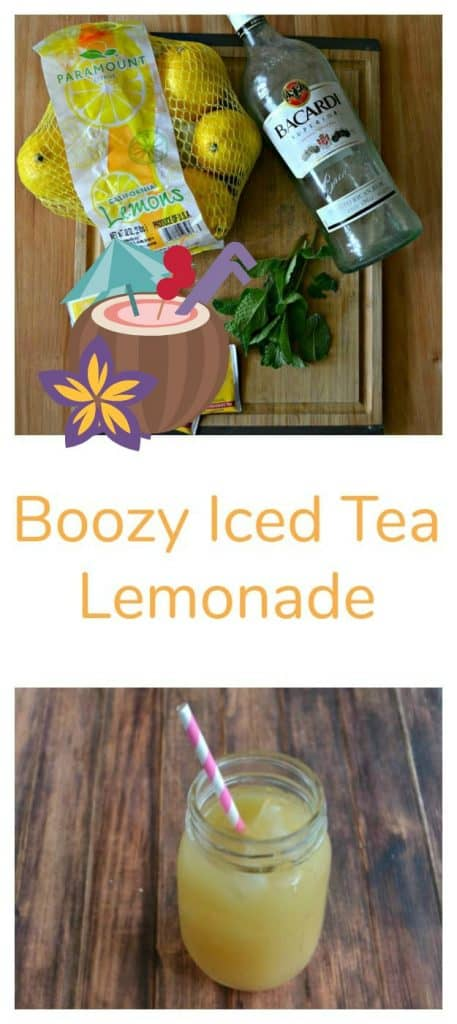 Boozy Iced Tea Lemonade