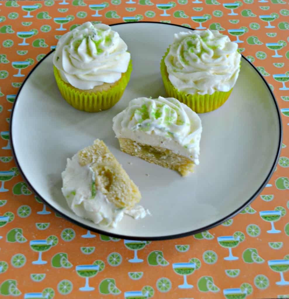 Summertime calls for these zesty Lime Cupcakes!