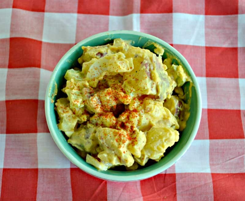 Looking for a summer side dish? Try this Classic Potato Salad recipe!