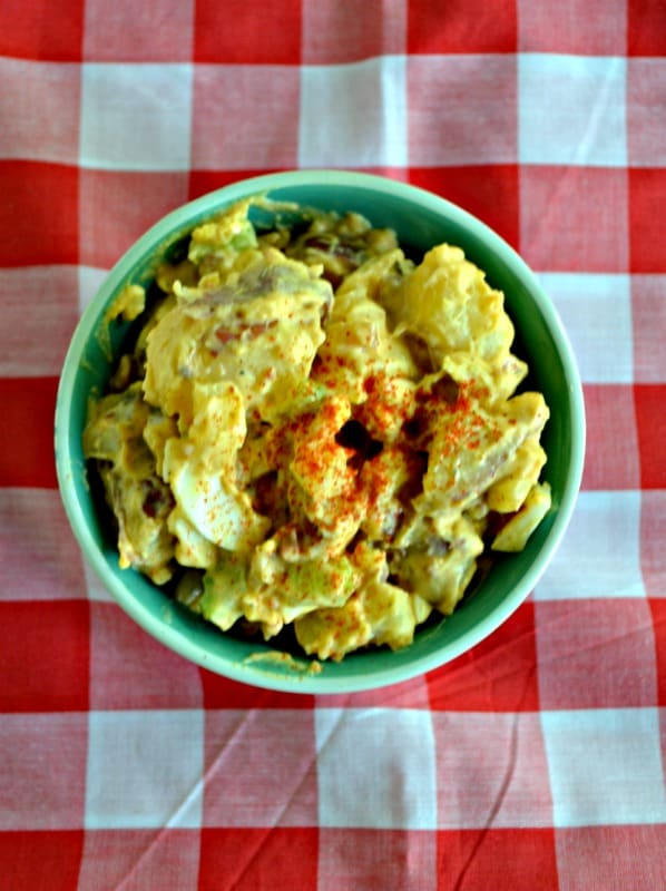 Classic Potato Salad is always a favorite summer side dish.