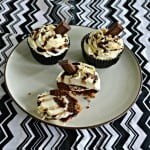Don't have a campfire? No worries! Make my S'mores Cupcakes at home!