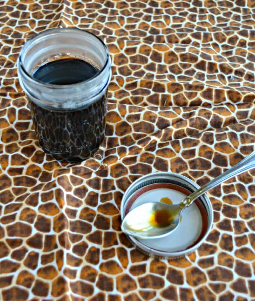 Make your own flavored coffee syrup at home with this Cinnamon Dolce Coffee Syrup
