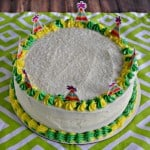 Lime Cake with Passion Fruit Filling