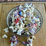 Having a summer party? Try this tasty Red, White, and Blue Popcorn for a snack!