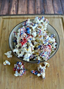 Red, White, and Blue Popcorn