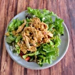 Looking for a way to freshen up your boring salad? Try my Hummus Chicken Salad recipe!
