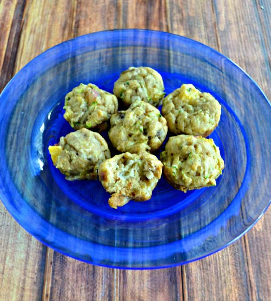 Having trouble getting your toddler to eat healthy? Make these delicious muffins filled with zucchini and fruit!