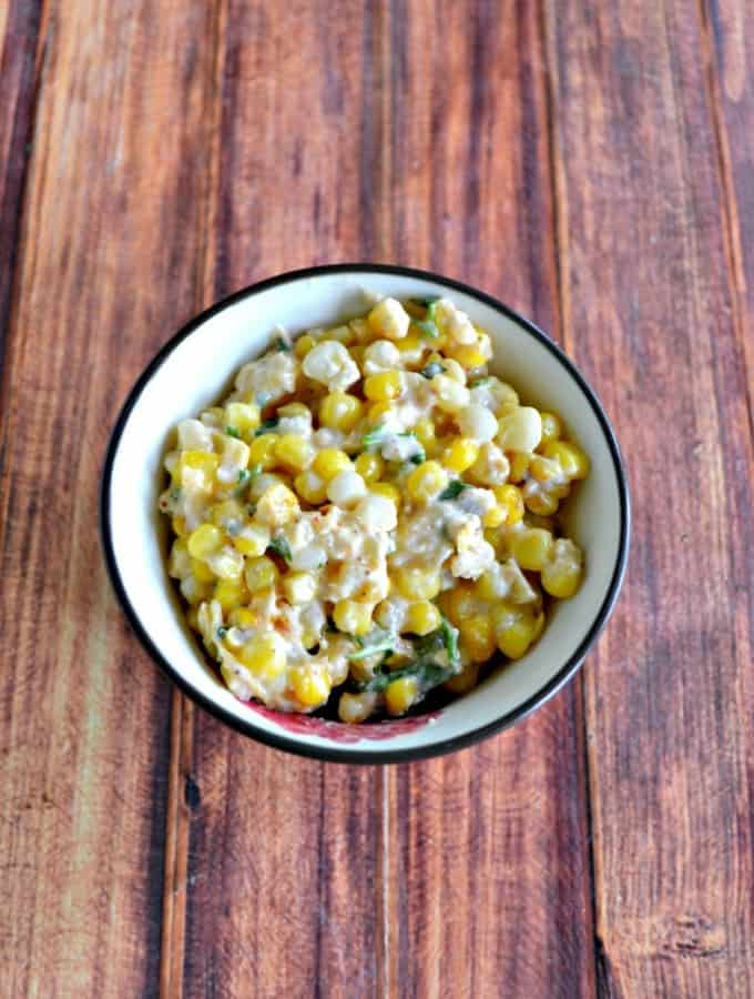 Grab some fresh sweet corn and make this tasty Mexican Corn Salad