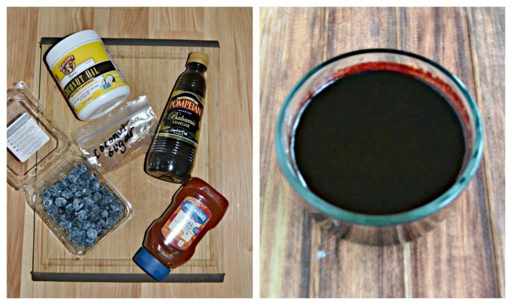 You'll love thiss sweet and tangy Blueberry BBQ sauce!