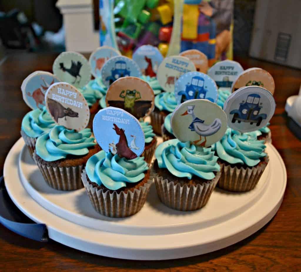 Little Blue Truck Cupcakes