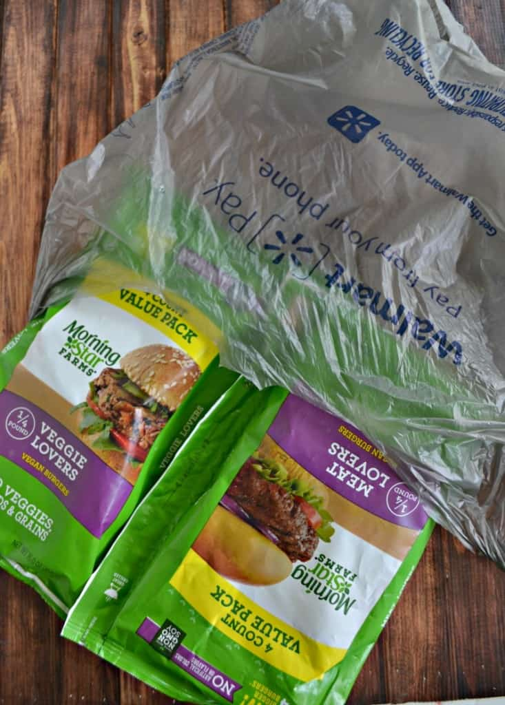 Grab these delicious quarter pound veggie burgers at Walmart!