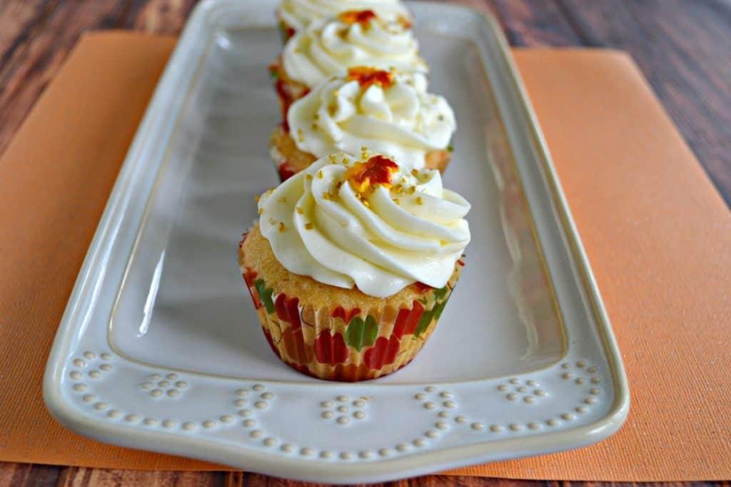 Bite into a Caramel Vanilla Cupcake