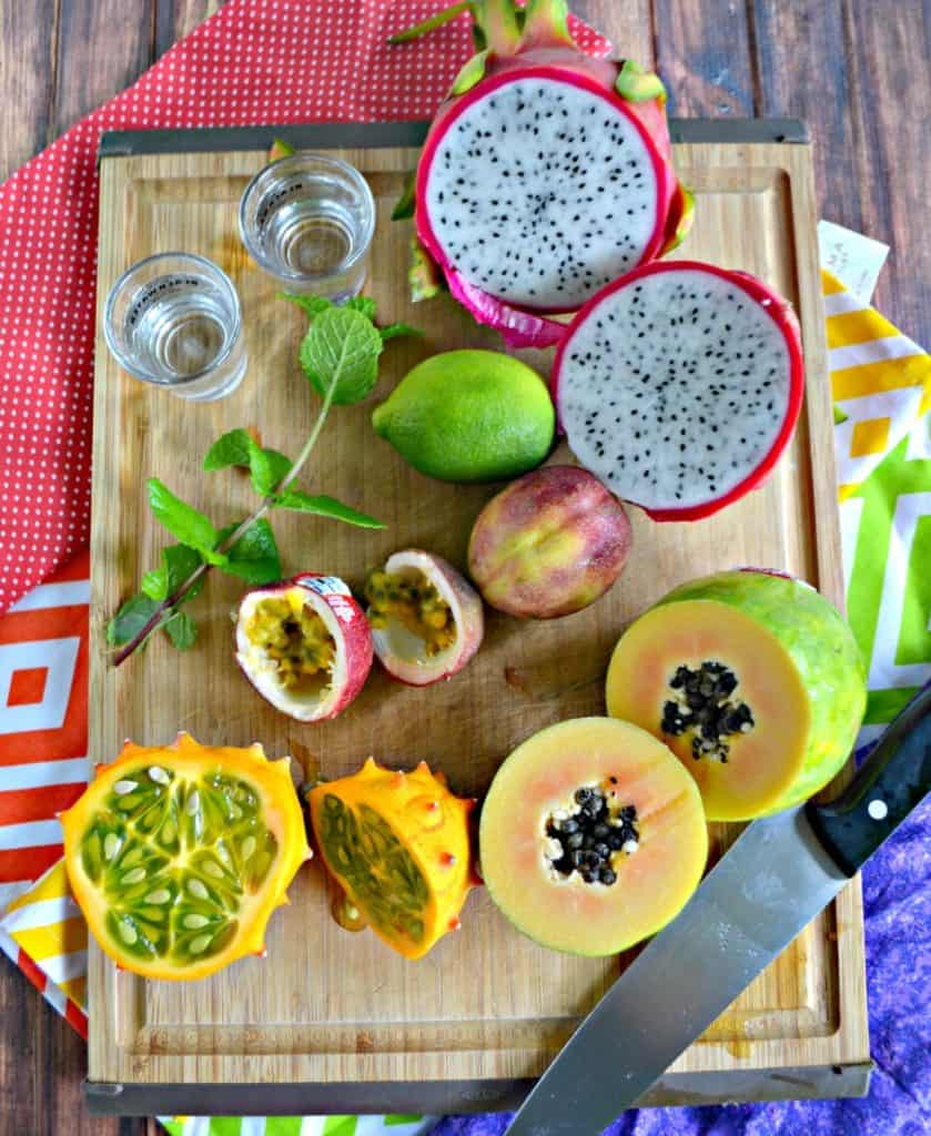 Freaky Fruits don't have to be scary fruits! Grab a few and make a tasty cocktail!