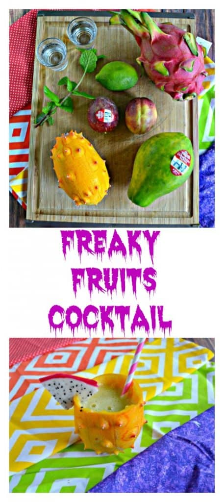 Grab a few freaky fruits and make this Freaky Fruits Cocktail