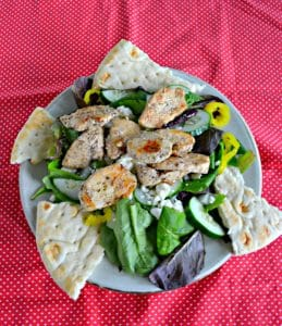 Greek Chicken Salad with Creamy Dressing