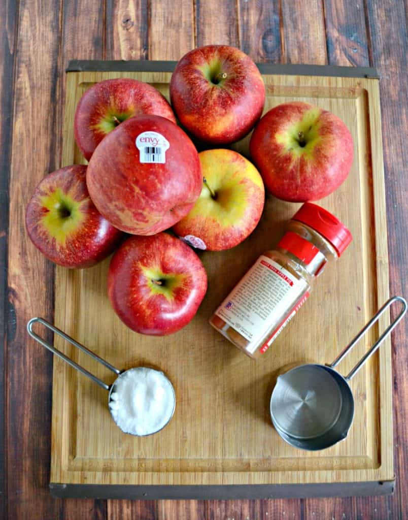 These Envy Apples make the best Instant Pot Applesauce