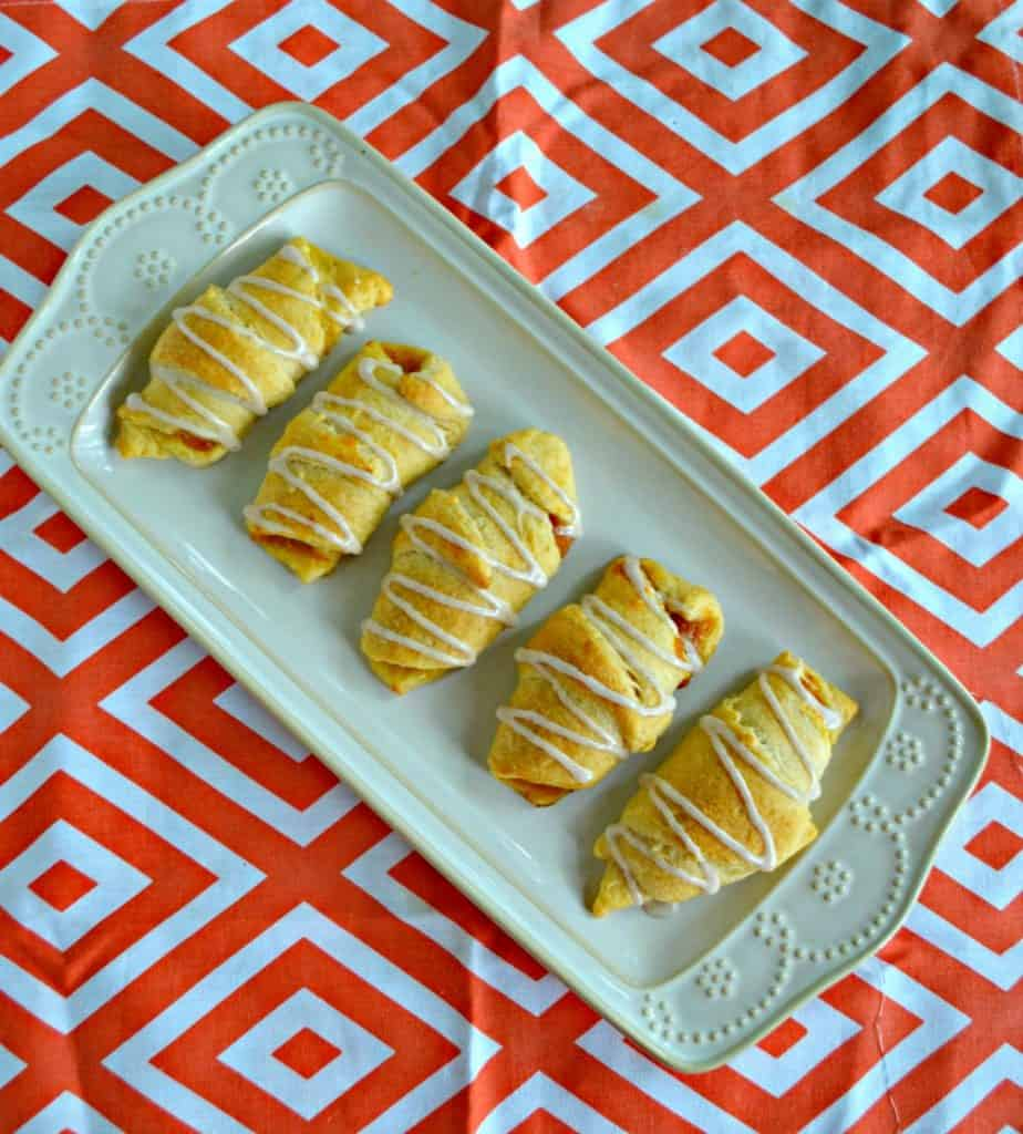 Don't spend time making a pumpkin pie, try these Pie Pie Cresents instead!