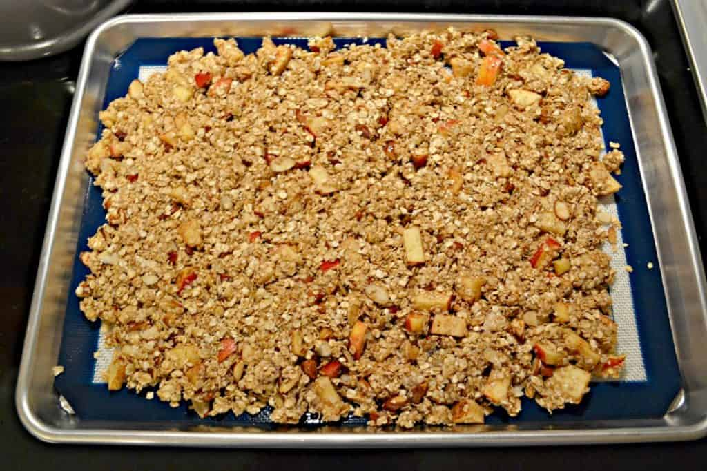 Put a twist on your morning granola with this fun Apple Pie Granola!
