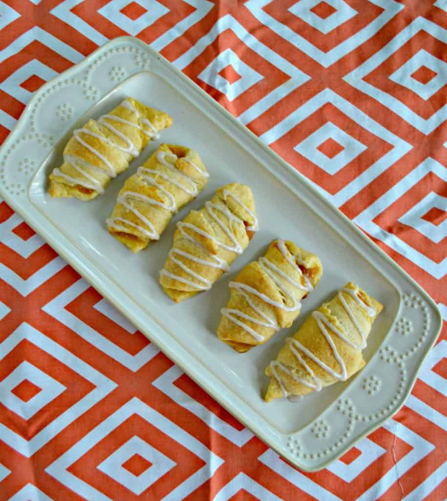 These delicious Pumpkin Pie Crescents are ready in just 20 minutes!