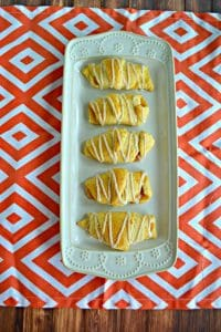 Pumpkin Pie Crescents #PumpkinWeek