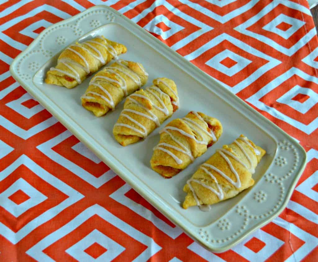 These Pumpkin Pie Crescents would be a fun brunch idea!