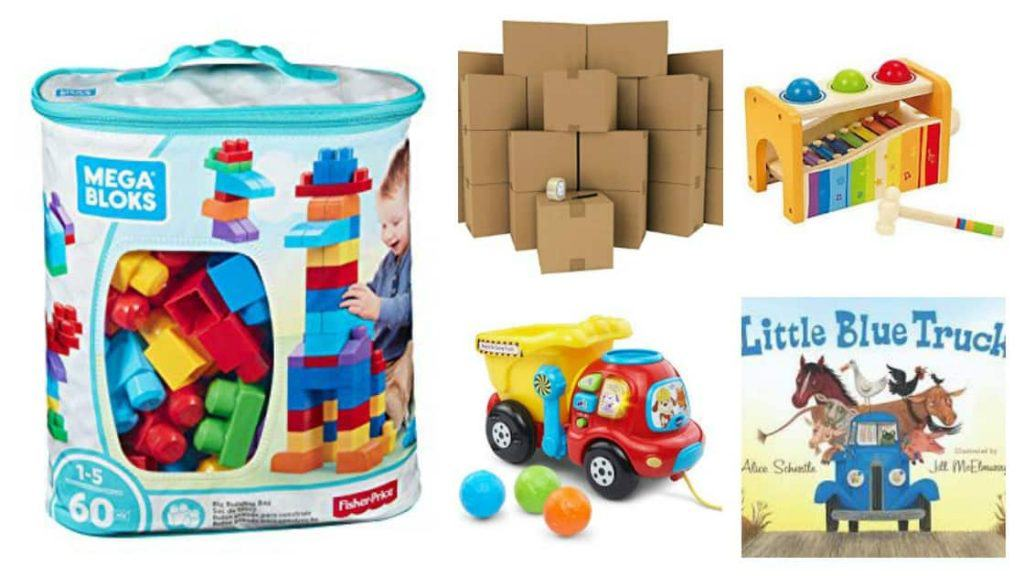 Toddler Tuesdays: Toys for One Year Olds